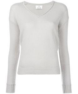 Allude | V-Neck Jumper Womens Size Large Cashmere
