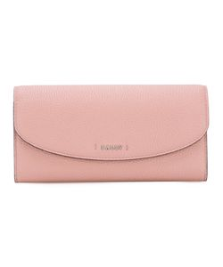 Bally | Logo Plaque Continental Wallet Womens Leather