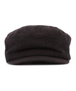 Devoa | Textu Hat Mens Size 58 Silk/Linen/Flax/Polyester