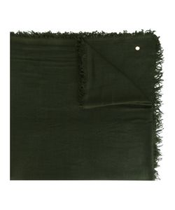 Ann Demeulemeester Blanche   Frayed Edge Scarf Mens Cashmere