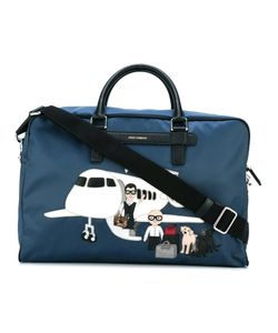 Dolce & Gabbana | Mediterraneo Designers Patch Holdall Leather/Polyester