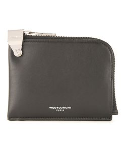 Wooyoungmi | Logo Print Pouch Mens Leather
