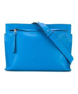 Loewe   Embossed Logo Cross Body Bag Womens Leather