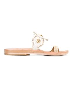 Calleen Cordero | Toe Strap Studded Flat Sandals Womens Size 9