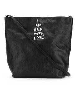Ann Demeulemeester Blanche   Sack Crossbody Bag Womens Leather