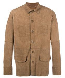 Desa | 1972 Shirt Jacket Mens Size 46 Suede/Cotton