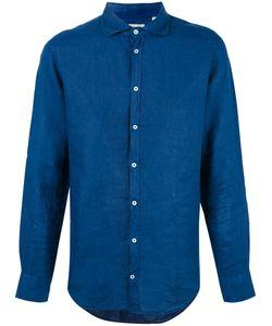 Massimo Alba   Linen Shirt Mens Size Medium Linen/Flax