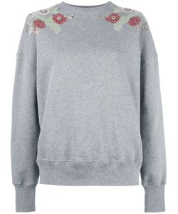 Alexander McQueen   Embellished Sweatshirt Womens Size 40 Cotton