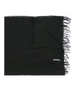Julius | Printed Woven Scarf Mens Cotton/Linen/Flax