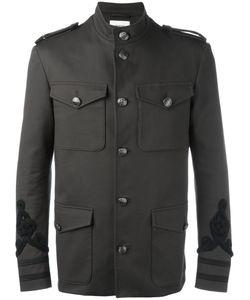 Ports   1961 Embroide Military Jacket Mens Size 52 Cotton/Spandex/Elastane/Viscose