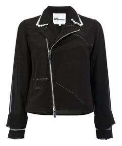 Comme Des Garçons Noir Kei Ninomiya | Pearls Collar Jacket Womens Size