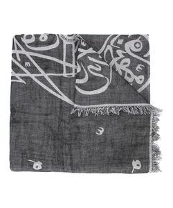 Thamanyah   Bleach Print Scarf Adult Unisex Cotton