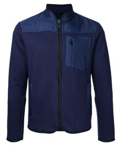 Kent & Curwen | Contrast Panel Zip Cardigan Mens Size Medium
