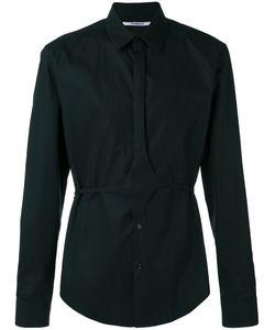 Chalayan | Button Belt Shirt Adult Unisex Size 46 Cotton
