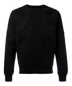 Les Hommes | Geometric Chest Print Sweatshirt Mens Size Large Cotton
