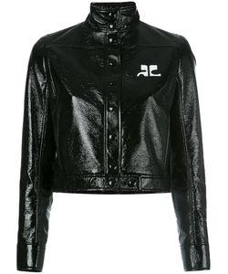 Courrèges | Vynil Jacket Womens Size 36 Cotton/Polyurethane/Acetate/Cupro