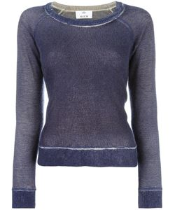 Allude | Faded Effect Jumper Womens Size Xl Cashmere