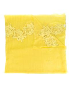 P.A.R.O.S.H. | Lace Trim Scarf Womens Wool/Cotton/Polyamide