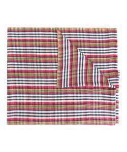 Etro | Checked Scarf Mens Silk/Linen/Flax/Cashmere
