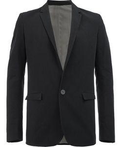 Label Under Construction | Flap Pockets Blazer Mens Size 50 Silk/Cotton/Linen/Flax