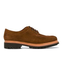 Grenson | Lace Up Derby Shoes Mens Size 7 Suede/Leather/Rubber