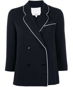 Tibi | Fitted Jacket Womens Size 2 Polyester/Silk