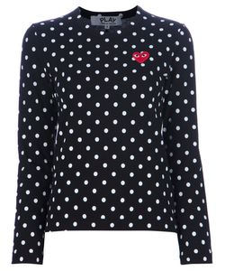 Comme Des Garçons Play | Polka Dot Top Womens Size Large