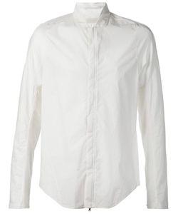 Abasi Rosborough | Band Collar Perforated Shirt