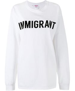 Ashish | Crew Neck Immigrant Sweatshirt Womens Size Large Cotton