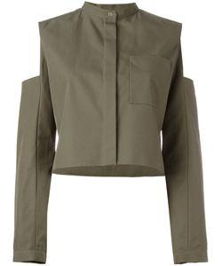 Maison Rabih Kayrouz   Slit Arms Jacket Womens Size 40 Cotton