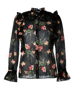 Vilshenko | Flower Cloud Blouse Womens Size 8 Cotton/Silk