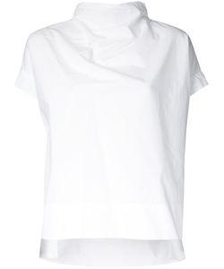 Demoo Parkchoonmoo | Roll Neck Blouse Womens Size 38 Cotton
