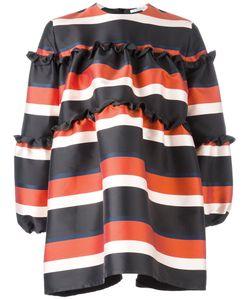 Vivetta | Striped Mini Dress Womens Size 40 Polyester/Polyamide