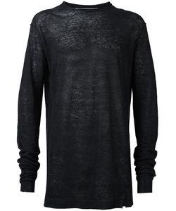 Damir Doma | Fine Knit Jumper Mens Size Small Linen/Flax