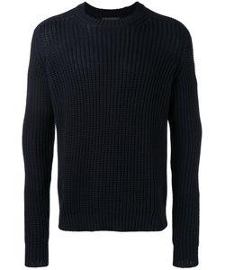 Iris von Arnim | Open Knit Jumper Mens Size Large Cotton/Cashmere