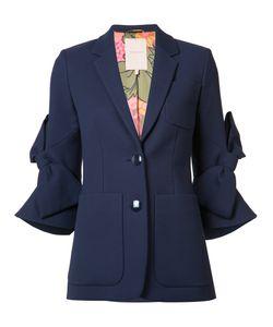 Roksanda | Bow Jacket Womens Size 10 Silk/Cotton