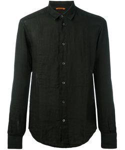 Barena   Slim-Fit Shirt Mens Size 50 Linen/Flax