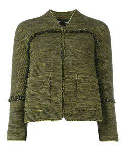 Proenza Schouler | Tweed Jacket Womens Size 6 Cotton/Acetate/Silk