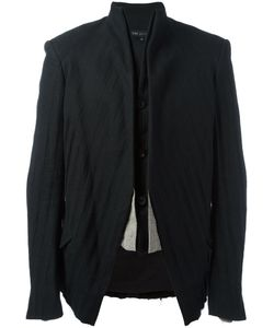 Cedric Jacquemyn   Suit Jacket Mens Size 48 Linen/Flax/Ramie/Cotton/Polyester
