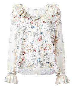 Vilshenko | Skye Print Blouse Womens Size 8 Silk