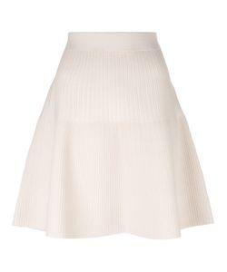 Steffen Schraut   Ribbed Detail Skirt Womens Size 40 Viscose/Polyester/Spandex/Elastane