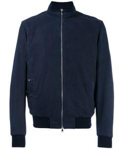 Barba | Zip Up Bomber Jacket Mens Size 52 Leather