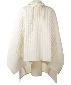 Craig Green | Quilted Hooded Poncho Adult Unisex Size Small Polyamide/Polyester