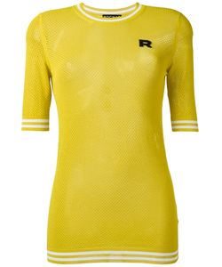 Rochas | Perforated Knit Jumper Womens Size 42 Viscose/Polyester