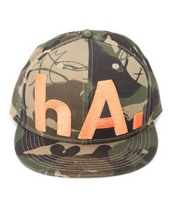 Haculla | Camouflage Print Hat Adult Unisex Cotton