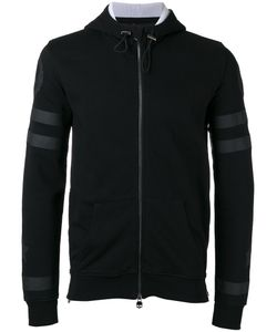 Hydrogen | Tonal Skull Print Zipped Sweatshirt Mens Size Large Cotton