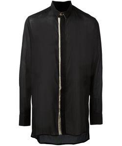 Cedric Jacquemyn   Side Split Shirt Mens Size 46 Cotton