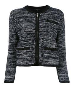 Rag & Bone | Zipped Cropped Jacket Womens Size Small Cotton/Modal/Viscose