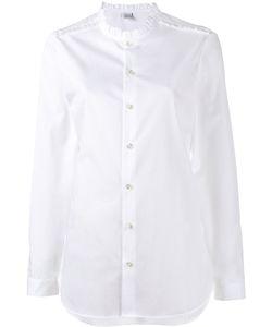 Marie Marot | Frill-Trimmed Diana Shirt Size Medium Cotton