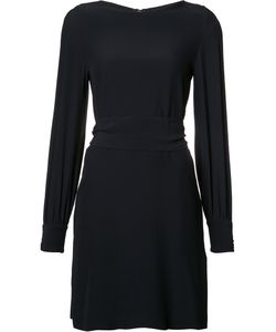 Vanessa Seward | Slit Sleeve Dress Size 34 Acetate/Viscose